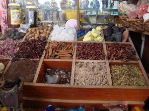 Turmeric, Myrrh, Frankincense, Cinnamon, Indigo